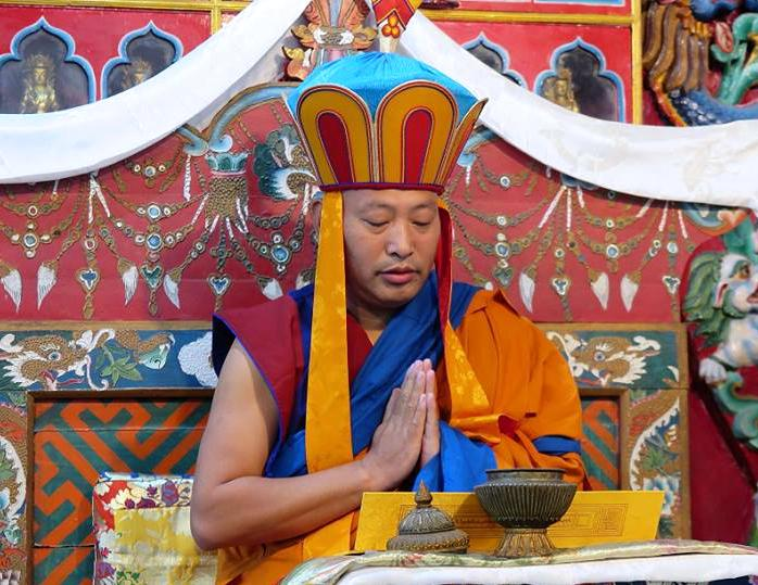 His Holiness 34th Menri Trizin